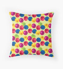 Colorful Berries Throw Pillow