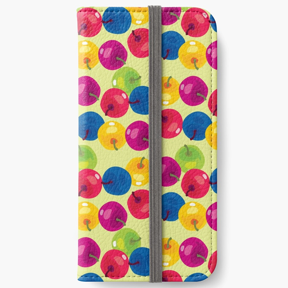 Colorful Berries iPhone Wallet