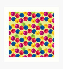 Colorful Berries Art Print