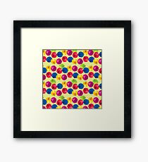 Colorful Berries Framed Print