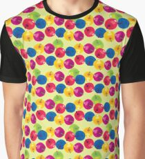 Colorful Berries Graphic T-Shirt