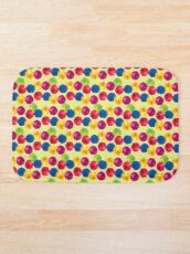 Colorful Berries Bath Mat