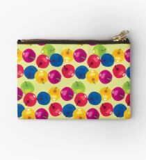Colorful Berries Zipper Pouch