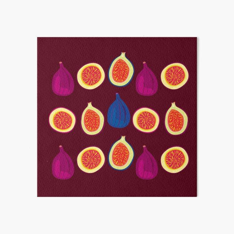 Sweet Fig Art Board Print