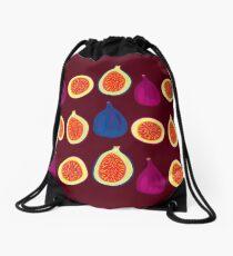 Sweet Fig Drawstring Bag