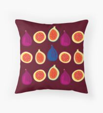 Sweet Fig Throw Pillow