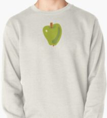 Green Apple Pullover Sweatshirt