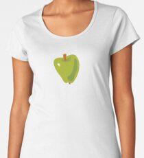 Green Apple Premium Scoop T-Shirt