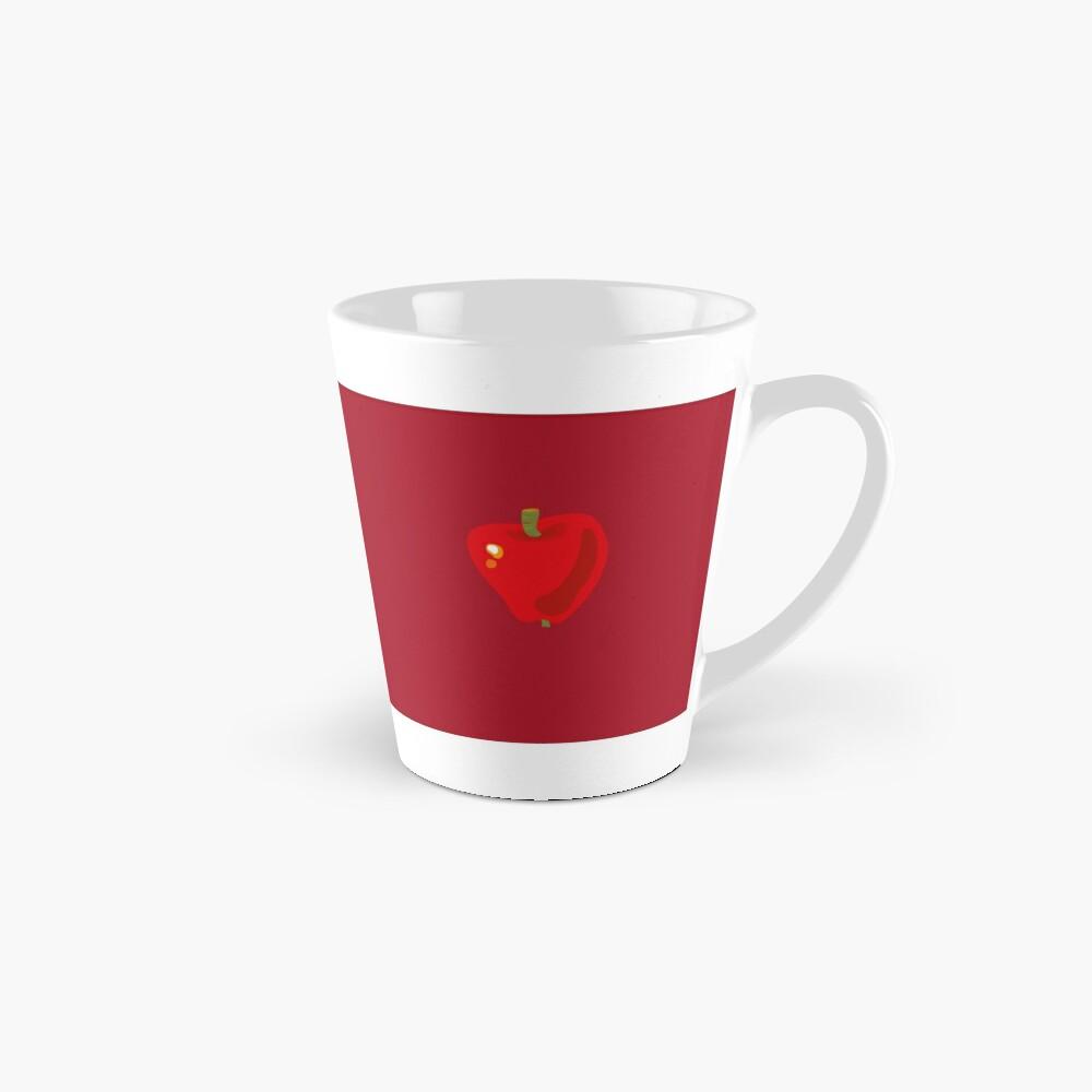 Red Apple Tall Mug