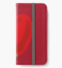Red Apple iPhone Wallet/Case/Skin