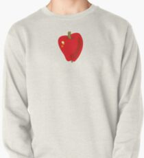 Red Apple Pullover Sweatshirt