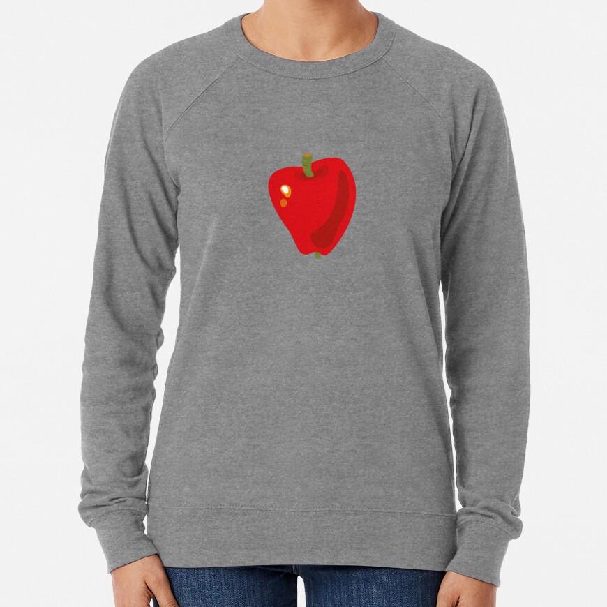 Red Apple Lightweight Sweatshirt
