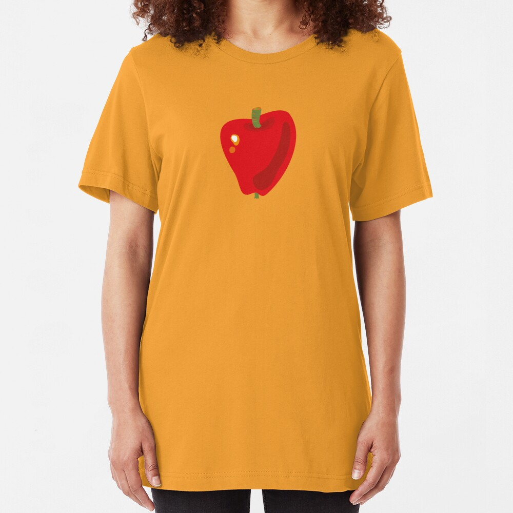 Red Apple Slim Fit T-Shirt