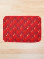Red Apple Bath Mat