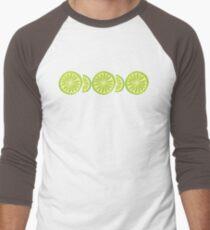 Lime Baseball ¾ Sleeve T-Shirt