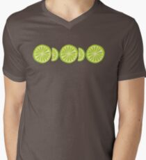 Lime V-Neck T-Shirt