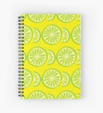 Lime Spiral Notebook