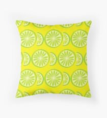 Lime Throw Pillow