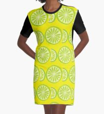 Lime Graphic T-Shirt Dress