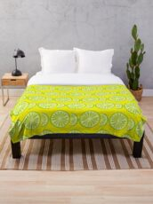 Lime Throw Blanket