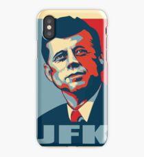 JFK Shepard Hope Style Poster iPhone Case/Skin