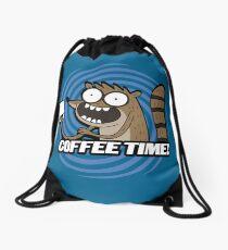 Coffee Time! Drawstring Bag