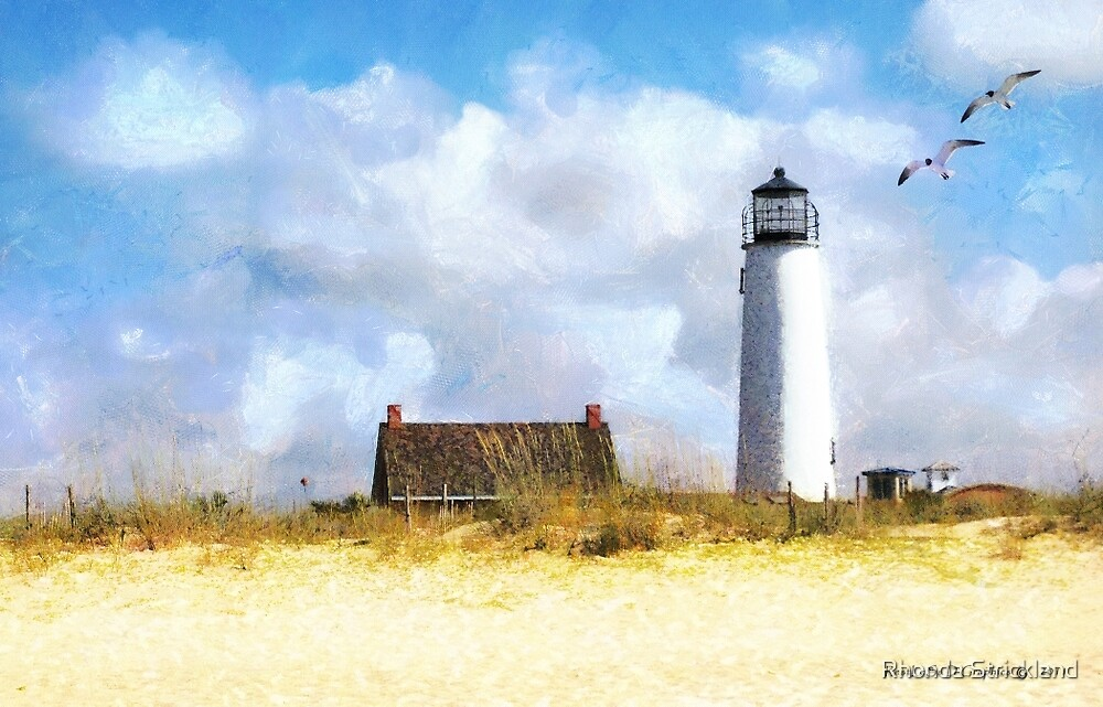 St. George Island Lighthouse by Rhonda Strickland