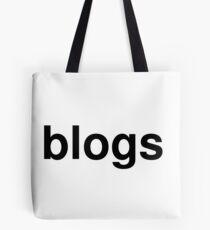 blogs Tote Bag