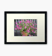 Pink Fantasia -Corel Photo painter Framed Print