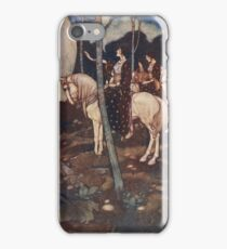 Maidens on white horses. iPhone Case/Skin
