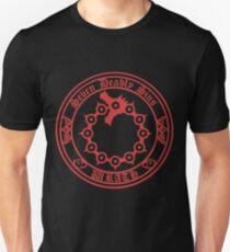 Meliodas Wrath Nanatsu No Taizai 7 Deadly Sins Logo Anime Cosplay Japan T Shirt Unisex T-Shirt