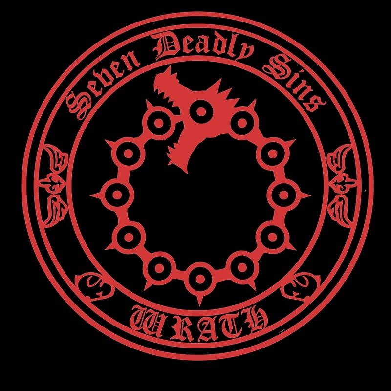 Wrath Seven Deadly Sins Symbol