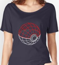 Pokeball 3D Women's Relaxed Fit T-Shirt