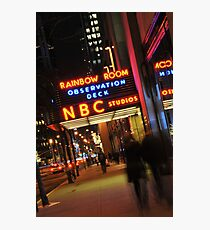 Saturday Night Live - NBC Studios Photographic Print