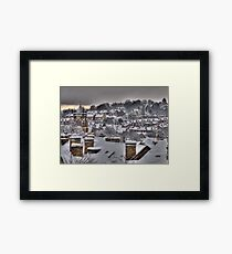 Sheffield Snow - Hunters Bar Framed Print