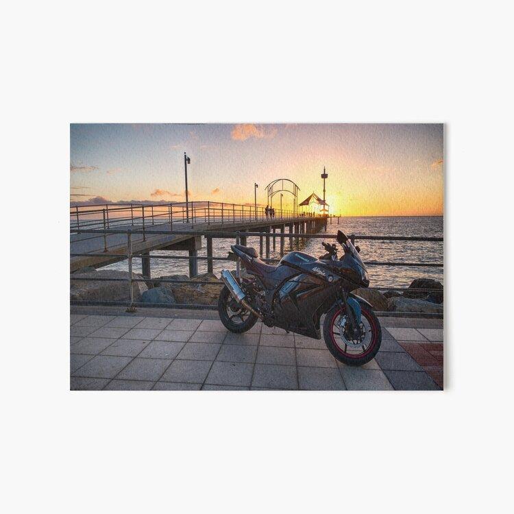Sunset Ride II Art Board Print