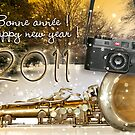 Happy New year 2011 RedBubblers ! by laurentlesax