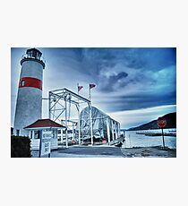 Lighthouse at Lake Otsego - Cooperstown, NY Photographic Print