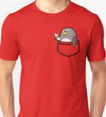 Pocket penguin enjoying ice cream T-Shirt