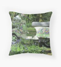 Vespa T5 Throw Pillow