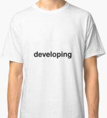 developing Classic T-Shirt