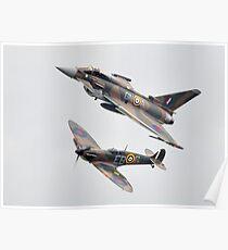 spitfire poster. spitfire typhoon poster