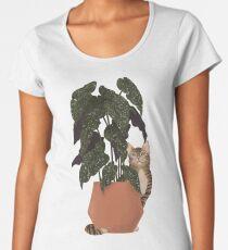 tiger at heart Premium Scoop T-Shirt