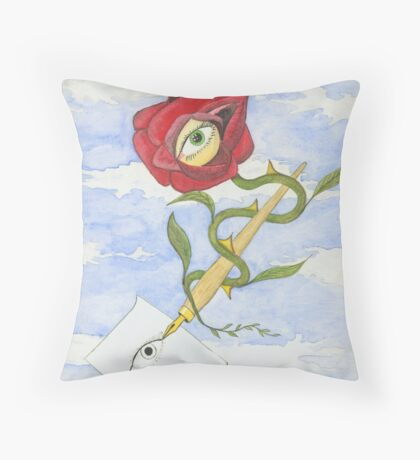 The Circle of Life Throw Pillow