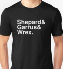 Mass Effect Names - 2 T-Shirt
