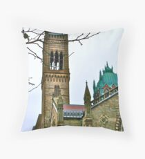 Old South Church Throw Pillow