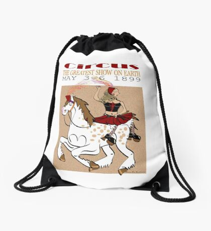 Circus Drawstring Bag