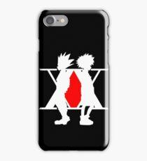 Hunter X Hunter Gon Killua Logo Anime Cosplay Japan T Shirt  iPhone Case/Skin