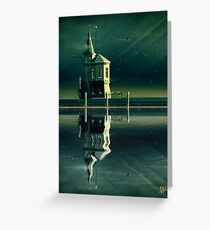 Castle in the Water Greeting Card