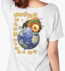 WORLD DESTRUCTION Women's Relaxed Fit T-Shirt